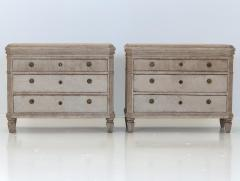 Pair of Gustavian Style Chest of Drawers - 1672213