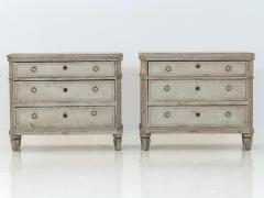 Pair of Gustavian Style Chests of Drawers - 1673025
