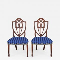 Pair of Hepplewhite Side Chairs - 603050