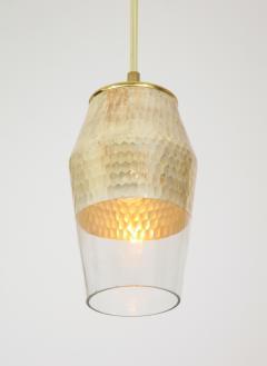 Pair of Honeycomb Pendant Lights - 1844580