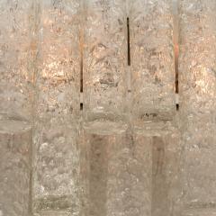 Pair of Huge Modern Hand Blown Flush Mounts or Light Fixtures from Doria 1960s - 1061501