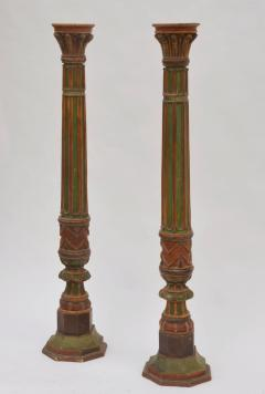 Pair of Impressive French 19th Century Napoleon III Torchere Columns - 929603