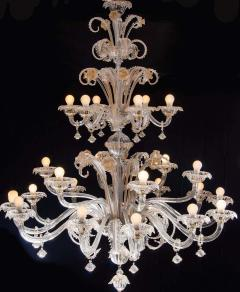 Pair of Impressive Murano Chandeliers by Seguso 1960 - 1780403