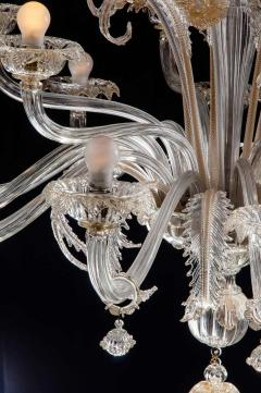 Pair of Impressive Murano Chandeliers by Seguso 1960 - 1780413