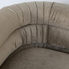 Pair of Interior Crafts Channeled Loveseats - 443249
