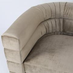 Pair of Interior Crafts Channeled Loveseats - 443251