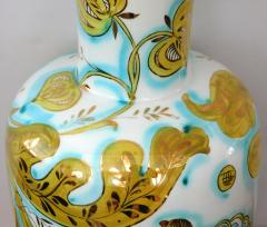 Pair of Italian 1950s Painted Porcelain Lamps for Marbro Lamp Co Los Angeles - 1974527