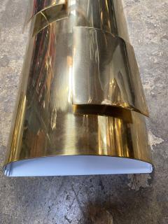 Pair of Italian 1960s Brass Sconces - 1259091