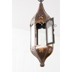 Pair of Italian 19th Century Toleware Procession Lantern Pendants - 2076243