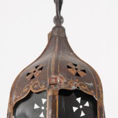 Pair of Italian 19th Century Toleware Procession Lantern Pendants - 2076246