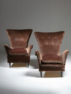 Pair of Italian 50s Lounge Chairs - 1587509