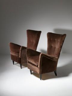 Pair of Italian 50s Lounge Chairs - 1587510