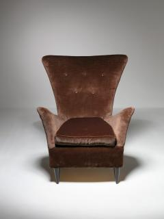 Pair of Italian 50s Lounge Chairs - 1587512