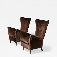 Pair of Italian 50s Lounge Chairs - 1587741