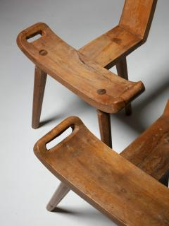 Pair of Italian 50s Rustic Chairs - 1224764