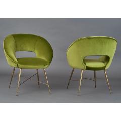 Pair of Italian Armchairs 1950s - 1259227