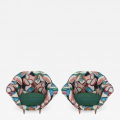 Pair of Italian Armchairs - 513262