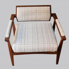 Pair of Italian Armchairs in Rosewood 1950s - 1866861