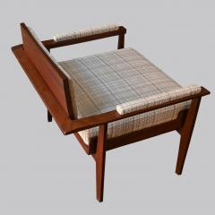 Pair of Italian Armchairs in Rosewood 1950s - 1866865