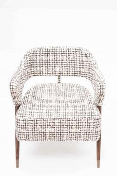 Pair of Italian Design Monique Armchair Midcentury Style - 1445713