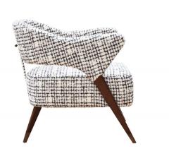 Pair of Italian Design Monique Armchair Midcentury Style - 1445715