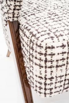 Pair of Italian Design Monique Armchair Midcentury Style - 1445716