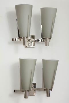 Pair of Italian Double Arm Wall Sconces - 433126