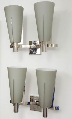 Pair of Italian Double Arm Wall Sconces - 433128