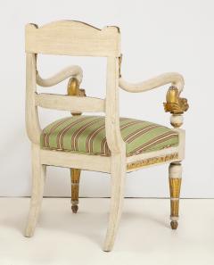 Pair of Italian Empire Chairs - 2074308