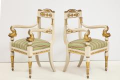 Pair of Italian Empire Chairs - 2074309