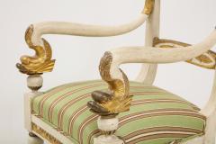 Pair of Italian Empire Chairs - 2074313
