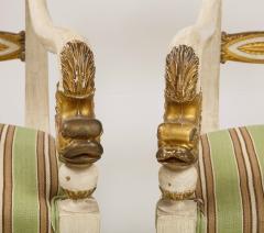 Pair of Italian Empire Chairs - 2074314