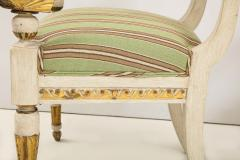 Pair of Italian Empire Chairs - 2074316