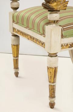 Pair of Italian Empire Chairs - 2074317
