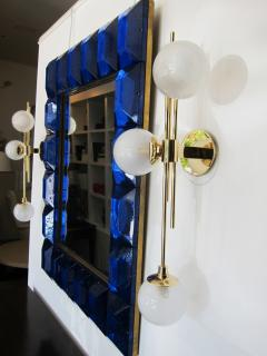 Pair of Italian Glass Wall Sconces - 1272859