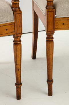 Pair of Italian Inlaid Armchairs - 1312554