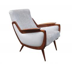 Pair of Italian Mid Century Armchairs - 1008149