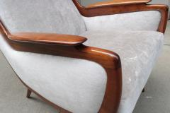 Pair of Italian Mid Century Armchairs - 1008150