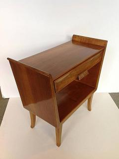 mid century modern bedside table. Pair Of Italian Mid Century Modern Bedside Tables - 550856 Table E