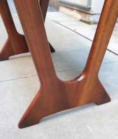 Pair of Italian Mid Century Modern Stools - 1601221
