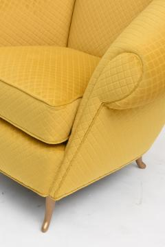 Pair of Italian Modern Lounge Chairs Gio Ponti for ISA Model 12690 1950s - 2099447