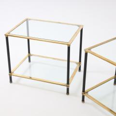 Pair of Italian Modernist Side Tables - 1946443