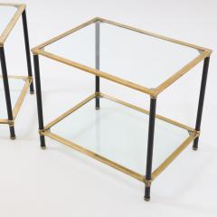 Pair of Italian Modernist Side Tables - 1946450