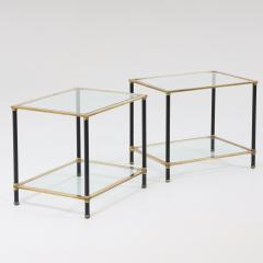 Pair of Italian Modernist Side Tables - 1946454