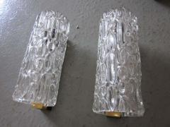 Pair of Italian Murano Glass Sconces - 1877086