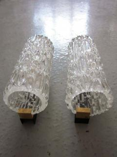 Pair of Italian Murano Glass Sconces - 1877087