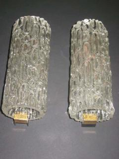 Pair of Italian Murano Glass Sconces - 1877098