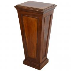 Pair of Italian Neoclassic Faux Bois Painted Pedestals - 60916