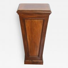 Pair of Italian Neoclassic Faux Bois Painted Pedestals - 62599