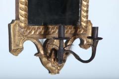 Pair of Italian Neoclassic Giltwood Girandole Mirrors - 358510